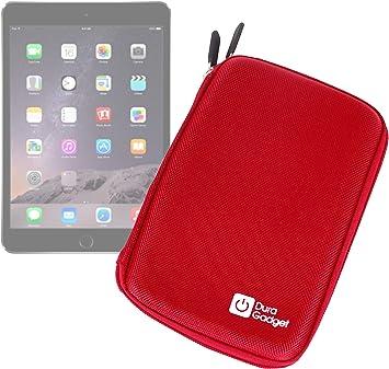 DURAGADGET Funda Rígida Rojo para La Tablet Apple iPad Mini 4/3: Amazon.es: Electrónica