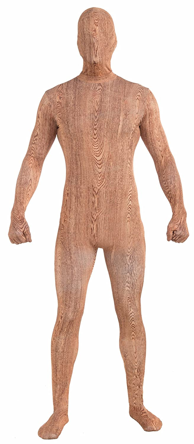 Forum Novelties Mens Disappearing Man Patterned Stretch Body Suit Costume