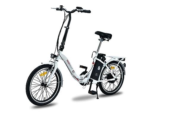 VECOCRAFT Nemesis bicicleta eléctrica, 20 pulgadas, bicicleta plegable eléctrica, 36 V 250 W, XF Motor trasero.: Amazon.es: Deportes y aire libre