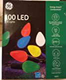 GE Energy Smart® 100-Count Constant Multicolor C6 Led Copper Wire String Christmas String Lights