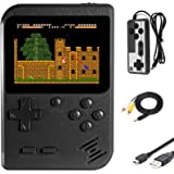 Imponigic Handheld Game Console Retro Mini Game Player with 500 Classic Game 1020mAh Rechargeable Battery 3 Inch IPS…