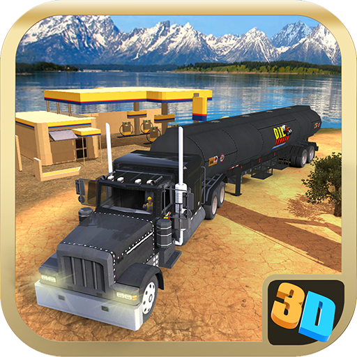 Offroad Oil Tanker Transport Simulator Game