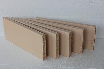 Placas de arcilla, horno chamotte, prämium Calidad 500 x 200 x 30 ...