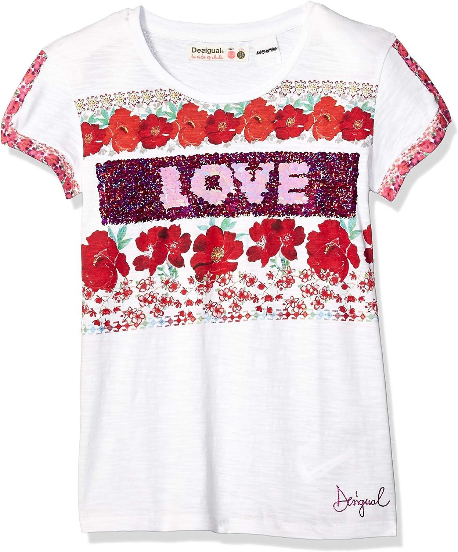 Desigual Girl Knit T-Shirt Short Sleeve Ts/_dakotadel