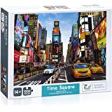 IEsafy Times Square 1000 Piece Jigsaw Puzzle Children Adult - Times Square - Game Toy Gift Large Jigsaw Puzzle Artwork for Ad