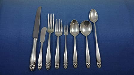 Kings By Wallace Sterling Silver Butter Spreader Flat Handle