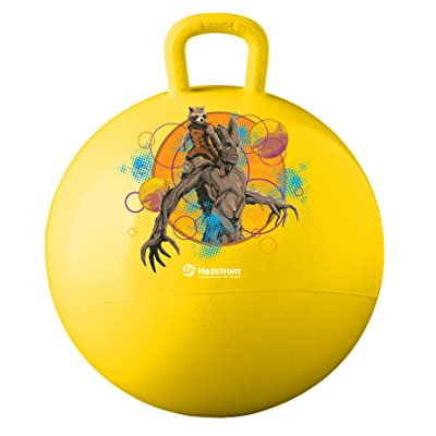 Hedstrom Guardians of The Galaxy Hopper, Hop Ball for Kids, 15 in: Toys & Games