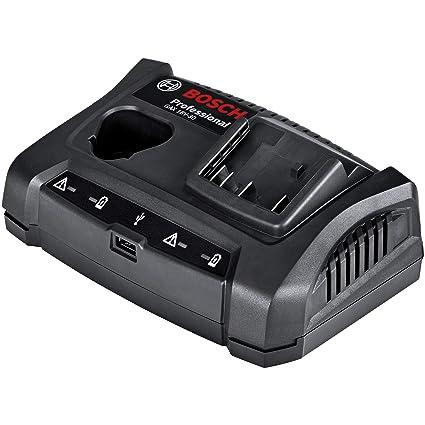 Bosch Professional GAX 18V-30 - Cargador doble de batería (ref. 1600A011A9)