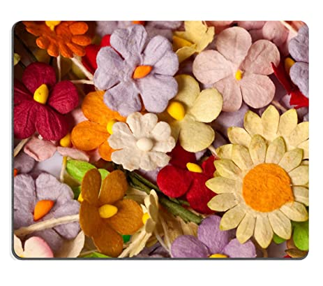 Amazon msd mousepad image 24018157 colorful of handicraft msd mousepad image 24018157 colorful of handicraft paper flower mightylinksfo