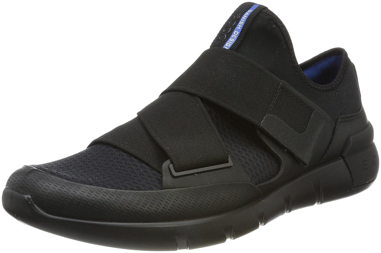 Ecco Soft 8, Sneakers Basses Homme, Noir (Black/Powder), 42 EU