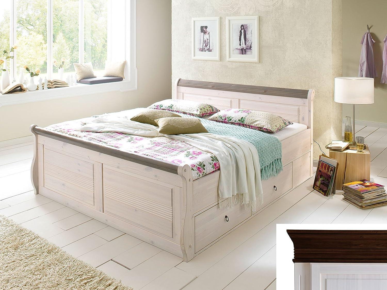 Malerisch Schlafzimmer Bett Weiß Referenz Von Details Zu Komfort Ehebett Doppelbett Holzbett Seniorenbett