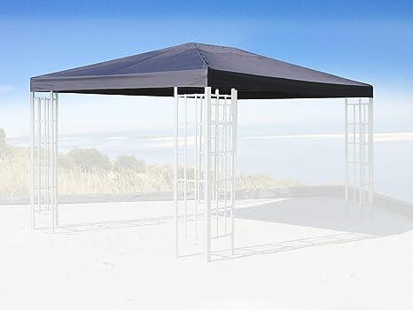 Quick-Star Repuesto para Rank Cenador (3 x 4 m Antracita Funda para pabellón Techo