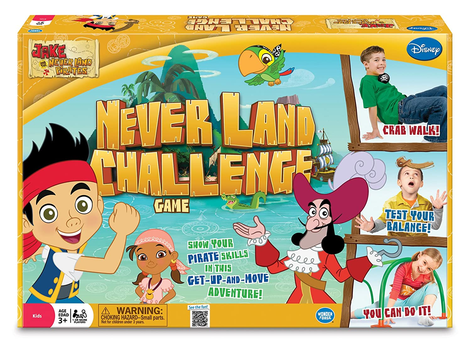 amazon com jake and the never land pirates never land challenge