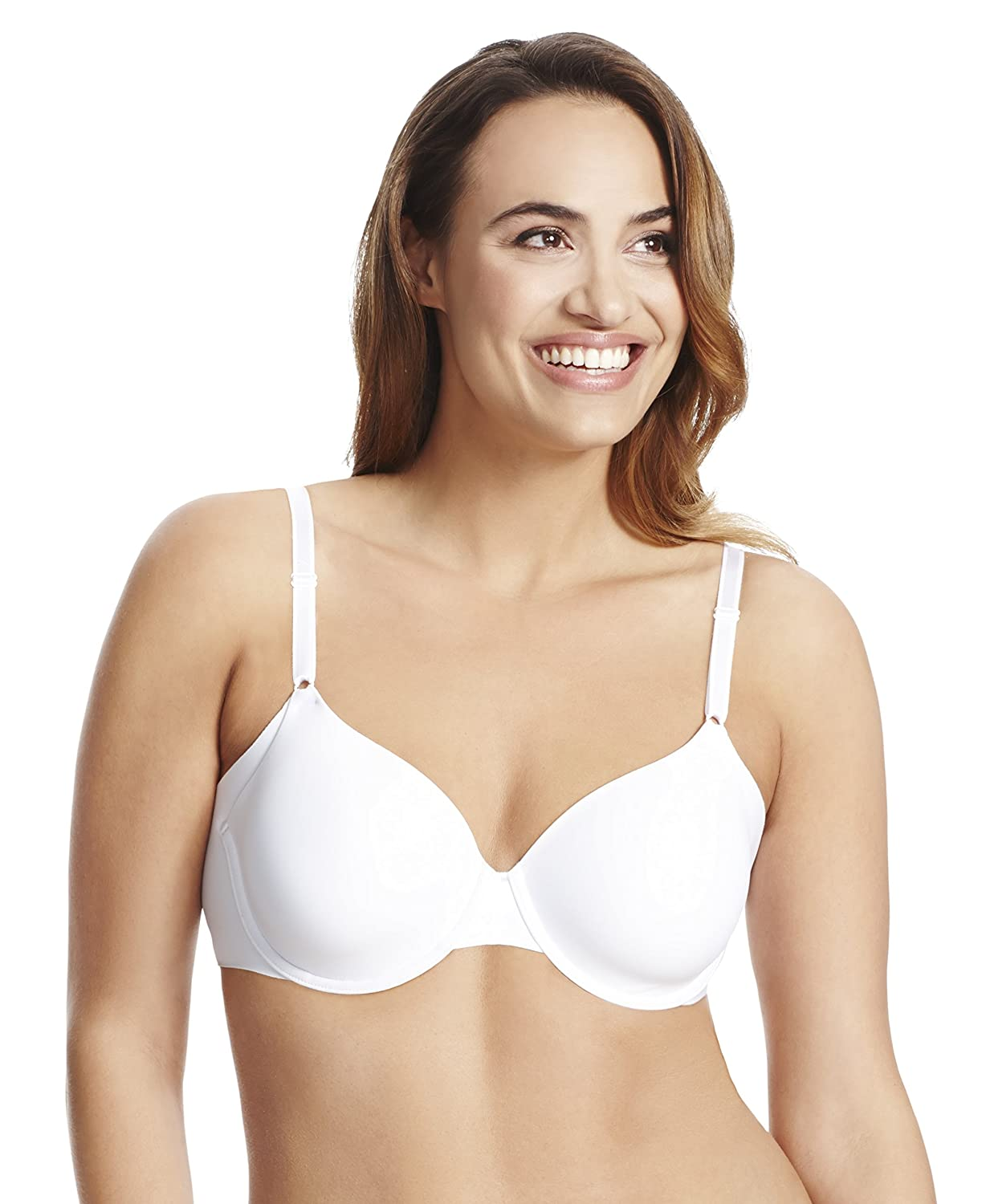 7d2f4d37890 Warners Womens No Side Effects Underwire Full Coverage Bra Full Coverage  Bra: Amazon.ca: Clothing & Accessories