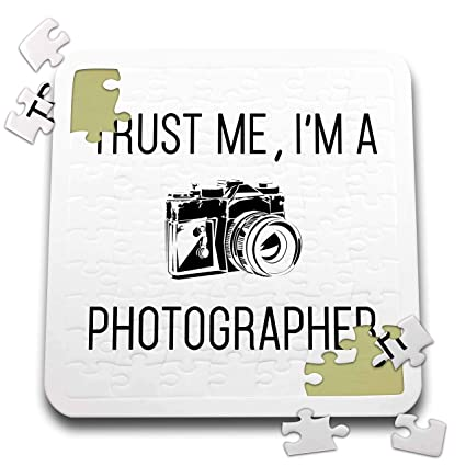 Trust Me Im A Photographer Camera Photo Joke Funny 3dRose Tory Anne Collections Quotes T-Shirts