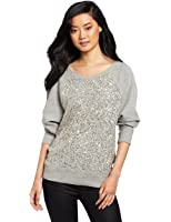 French Connection Women's Ellen Sequin Sweater
