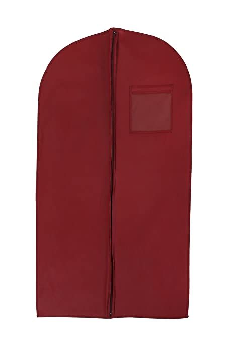 cced59b6ee6b Bags for Less New Breathable 40 quot  Suit dress Burgundy Garment Bags