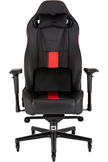 Corsair CF-9010008 WW T2 Road Warrior Gaming Chair Comfort Design Black/Red
