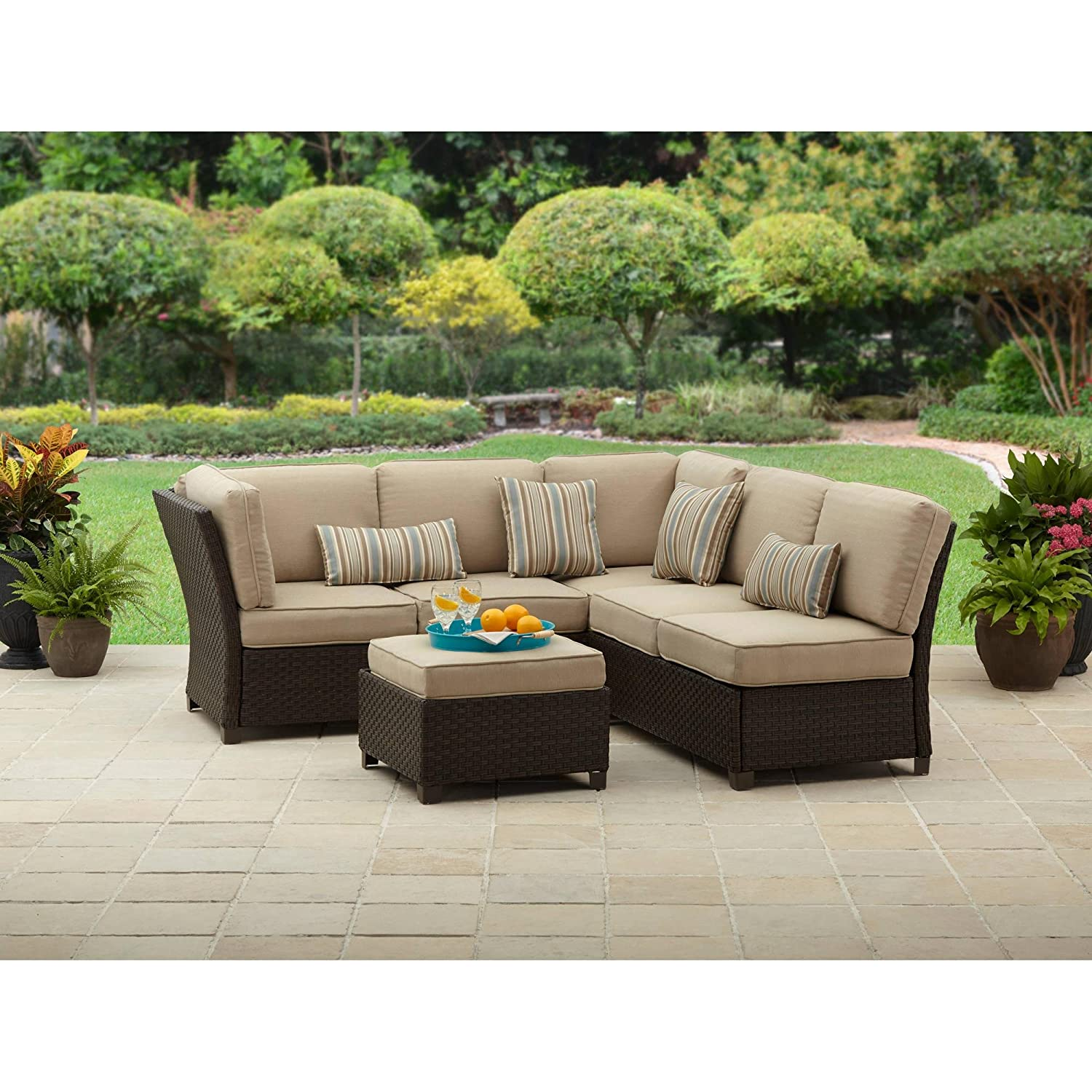 Amazon Outdoor Patio Better Homes and Gardens Cadence Wicker