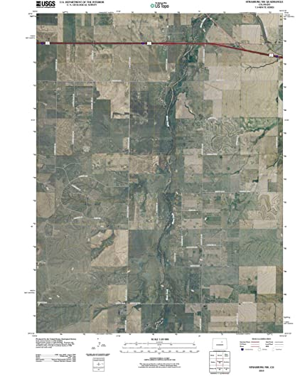 Strasburg Colorado Map.Amazon Com Colorado Maps 2010 Strasburg Co Usgs Historical
