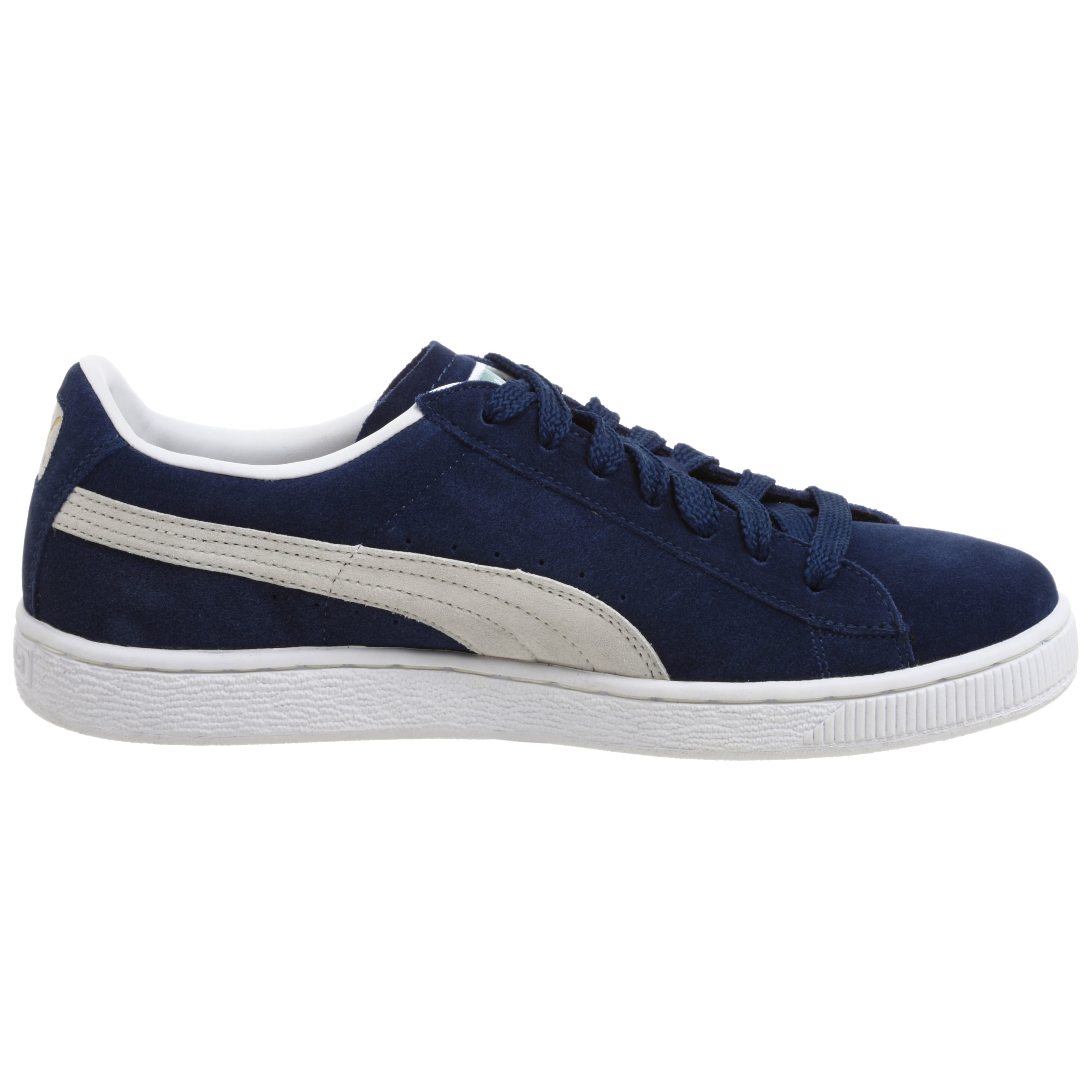 PUMA Suede Classic Sneaker,Blue/White,8 M US Men's by PUMA (Image #6)