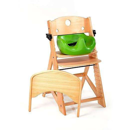 Amazon.com: Keekaroo Trona y inserto de bebé bandeja, lima ...