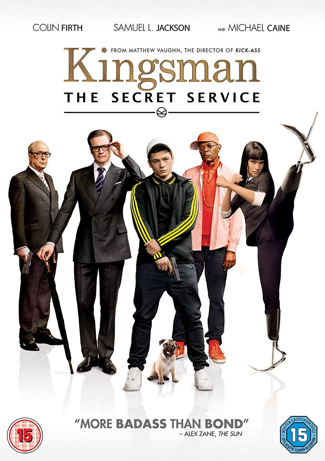 Kingsman: The Secret Service [DVD] [2015]: Amazon.co.uk: Colin Firth, ...