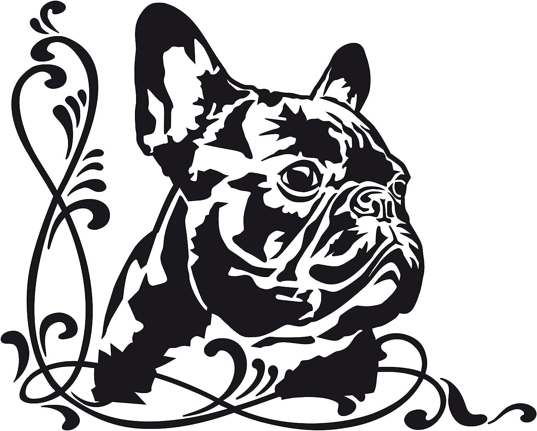 Autoaufkleber Französische Bulldogge Jimmy Auto