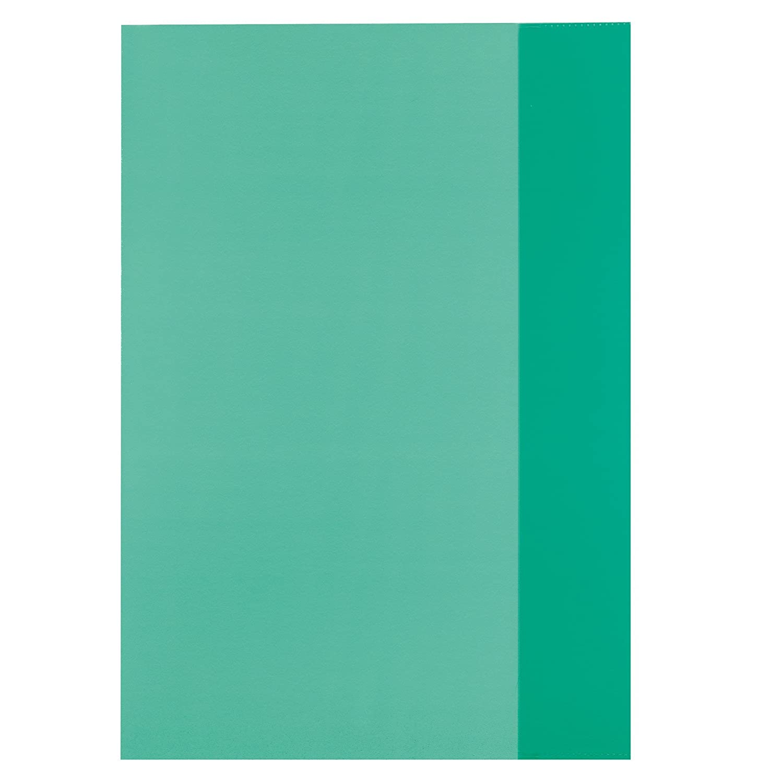 Farbe 10 Heftumschläge Hefthüllen DIN A4 transparent klar