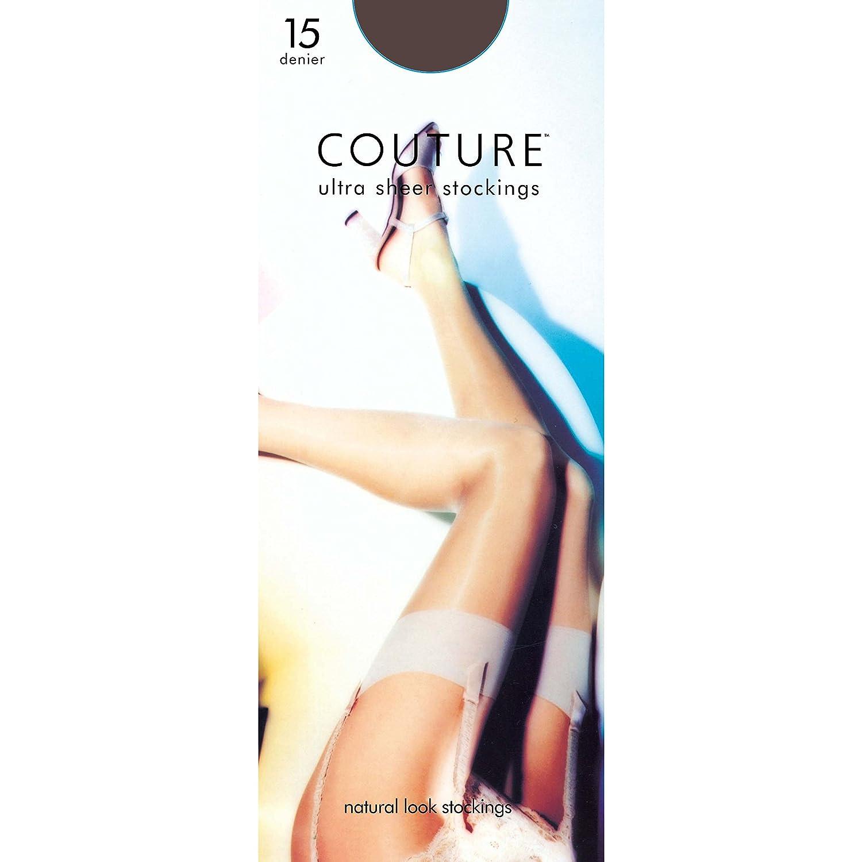 Couture Womens/Ladies Nylon 15 Denier Stockings (1 Pair) UTLW124_1