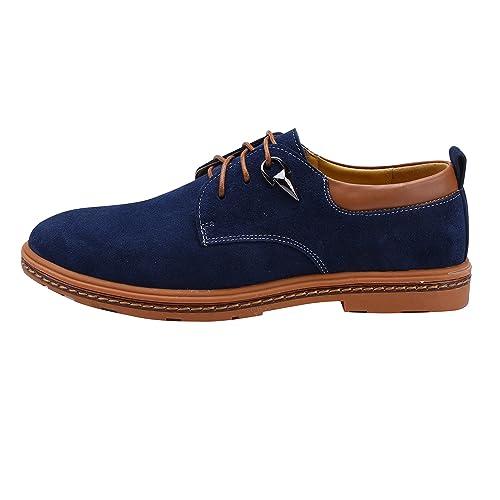 Zapatos de Cordones Zapatillas de Vestir para Hombre: Amazon.es: Zapatos y complementos