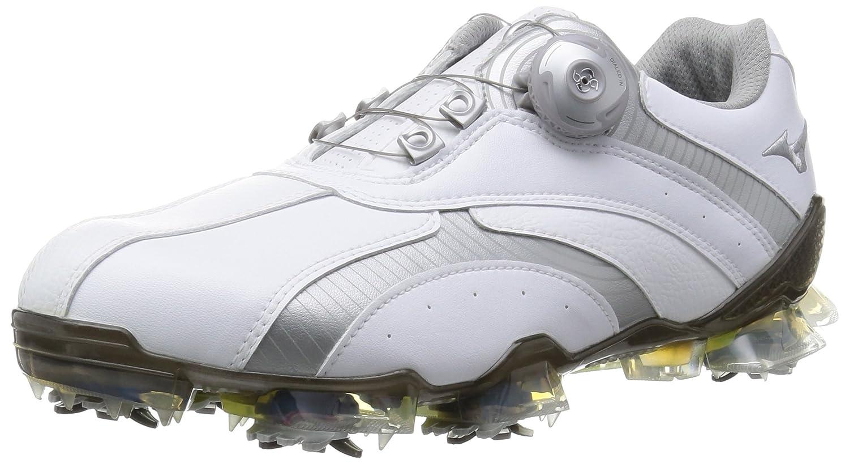 [ミズノゴルフ] ゴルフシューズ ヴァラー 001 ボア B016ZWCPTU 24.5 cm 3E ホワイト/シルバー