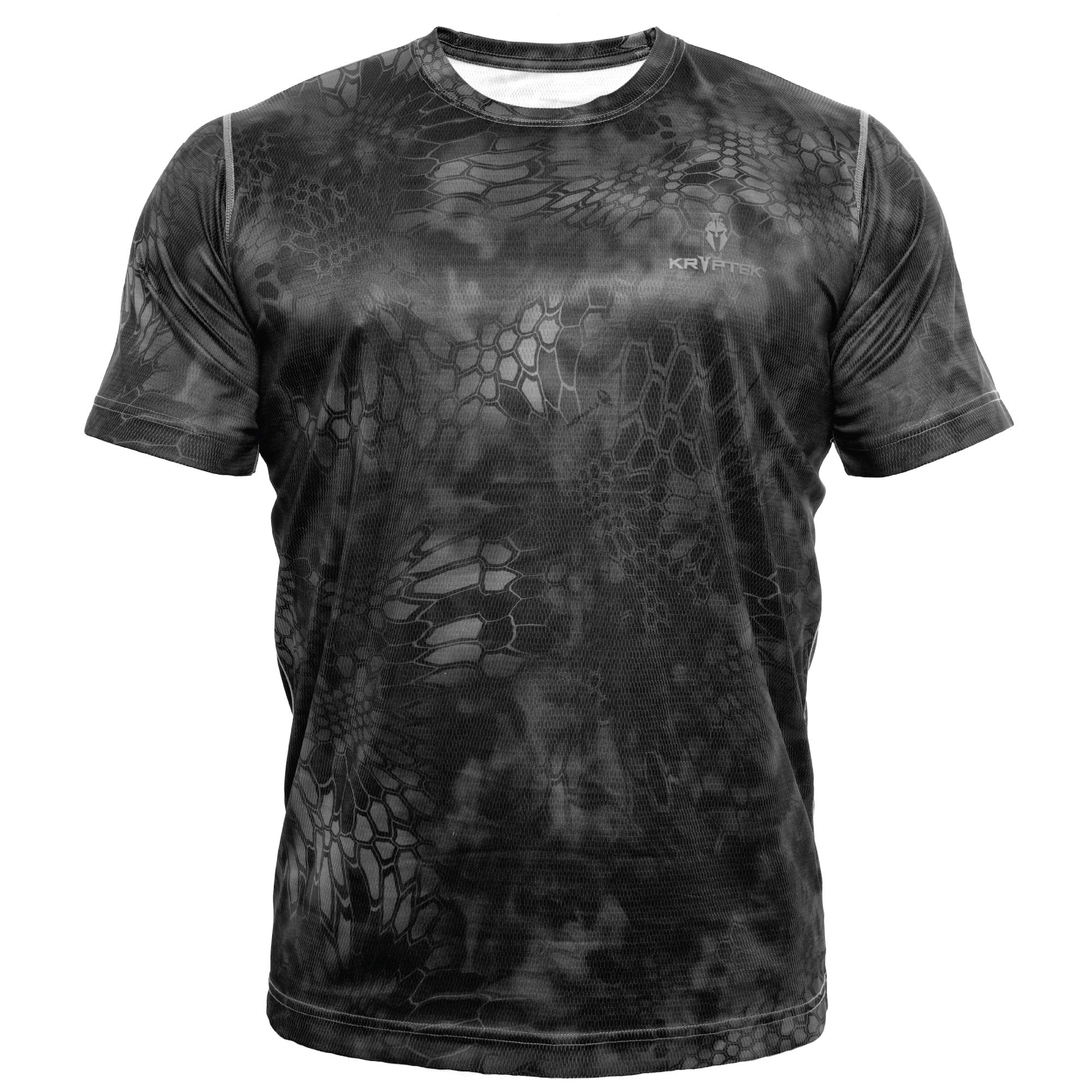 Kryptek Hyperion SS Crew - Short Sleeve Camo Hunting & Fishing Shirt (K-Ore Collection), Typhon, XL by Kryptek