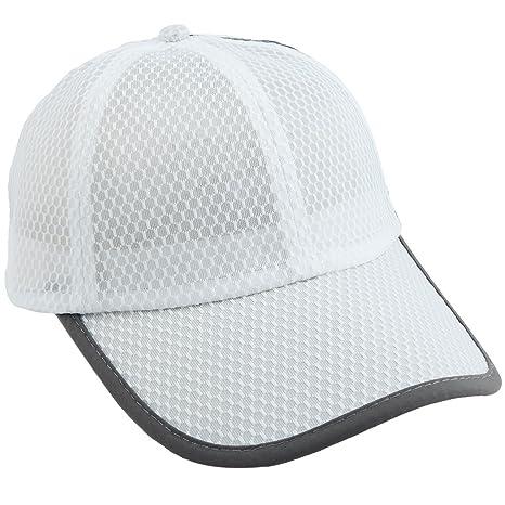 5891b60707 squaregarden Mesh Baseball Caps for Men,Quick Dry Lightweight Ultra Thin  Running Fishing Hats