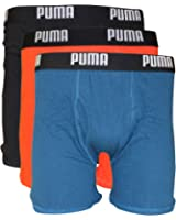 PUMA Men's 3 Pack Cotton Boxer Briefs