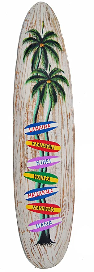 Directorio de la tabla de surf 100 cm decoración al Hawaii colgando de tablas de surf