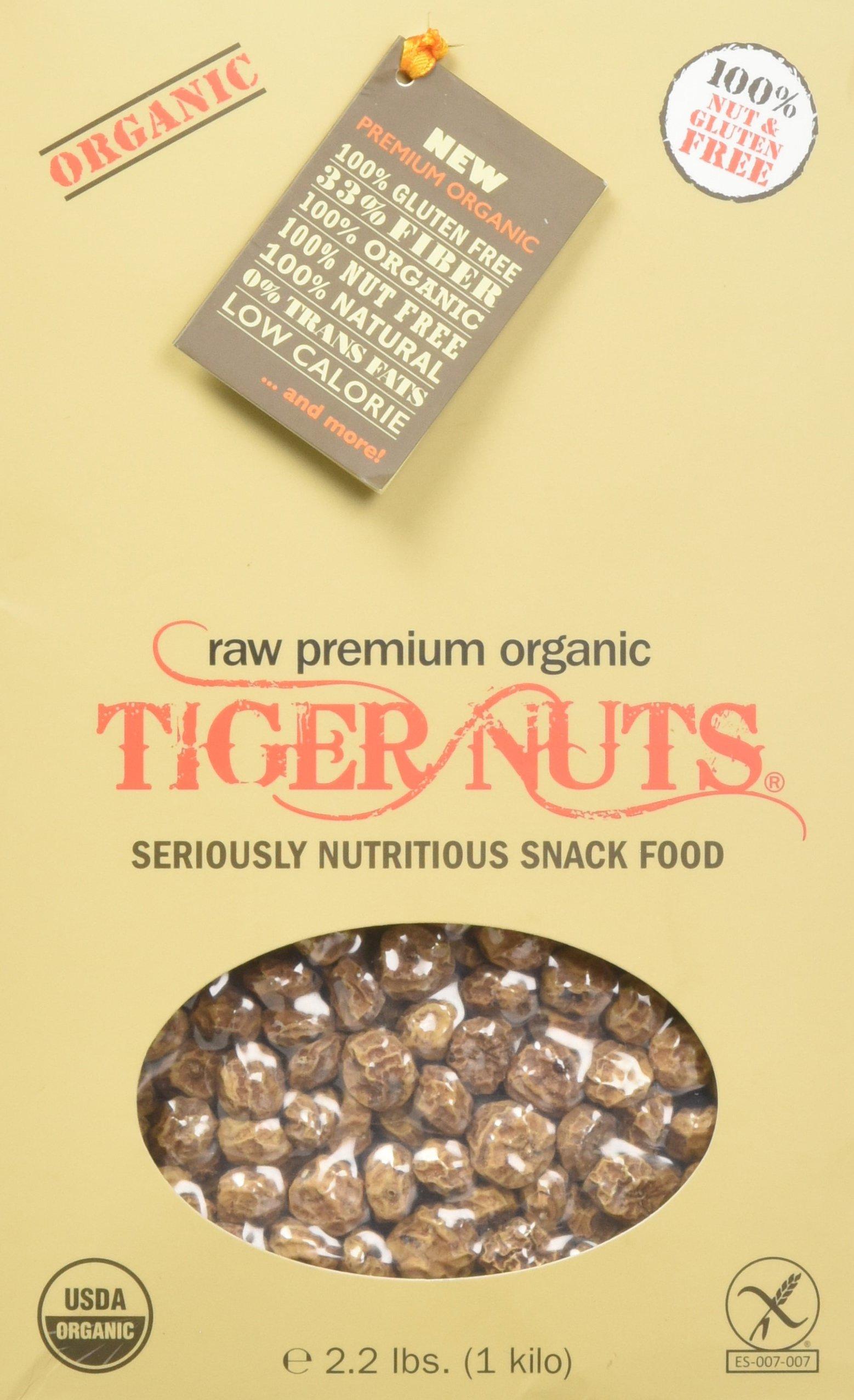 TIGER NUTS - Premium Organic 1 Kilo (2.2 lbs)