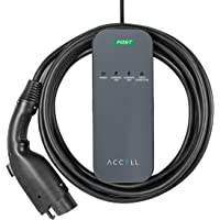 Accell AxFAST Dual-Voltage Portable Electric Vehicle Charger
