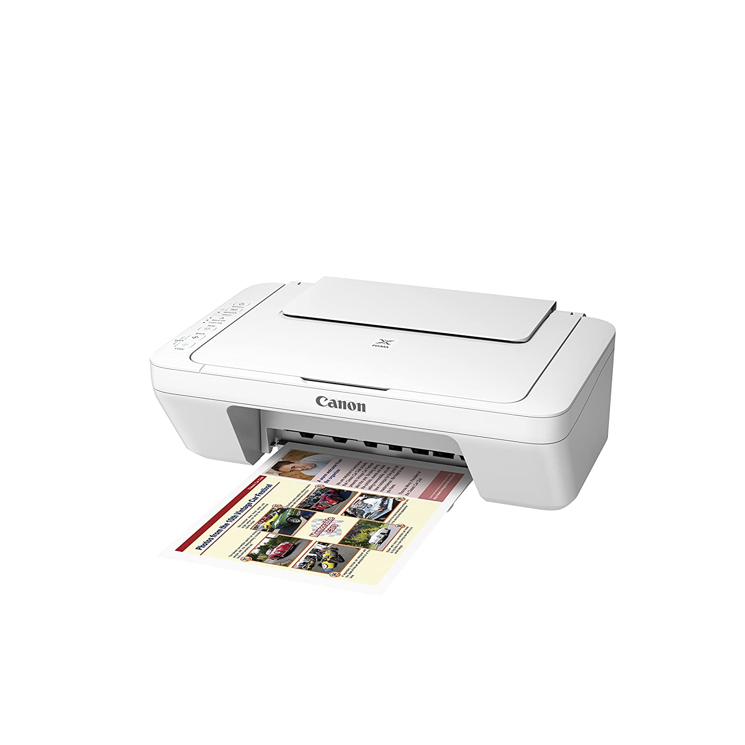 Canon MG3020 Wireless Color Photo Printer with Scanner and Copier, White Canon Canada (Direct)