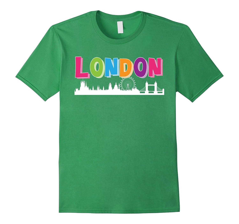 British London T Shirt - Skyline T-Shirt-CD