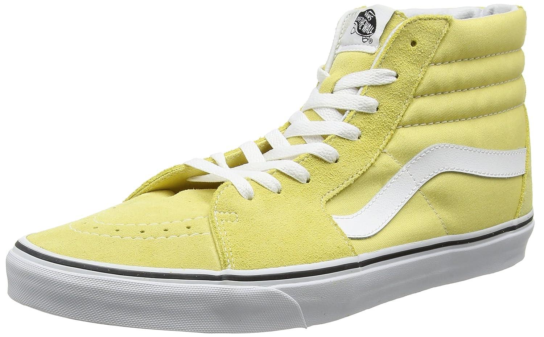 Vans Men's Sk8-Hi(Tm) Core Classics B06ZZ2TFFN 11 D(M) US|Yellow / Dusky Citron
