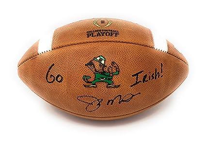 quality design 995f3 402e5 Joe Montana Notre Dame Fighting Irish Signed Autograph ...