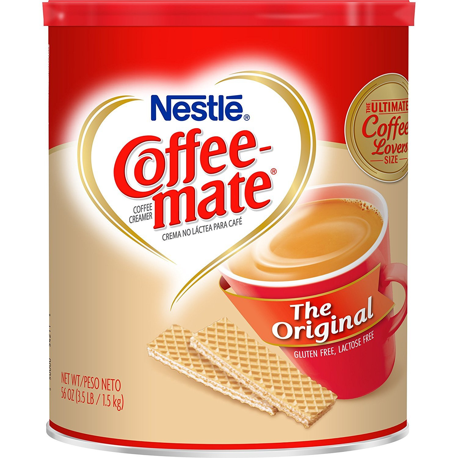 Nestle Coffee-mate Coffee Creamer 56oz. Canister (6 Pack) by Nestle (Image #2)