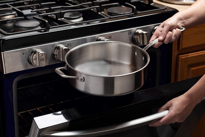 Kitchara Juego de utensilios de cocina de acero inoxidable, 10 ...
