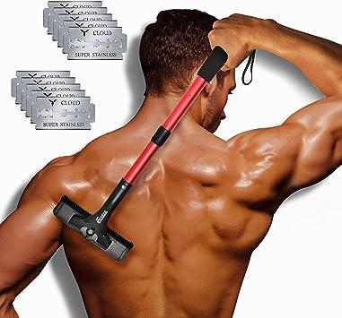 EASACE Afeitadora Depilación Afeitadora Espalda para Hombres ...