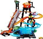 Pista Lava Rápido Ataque Jacaré, Hot Wheels, Mattel