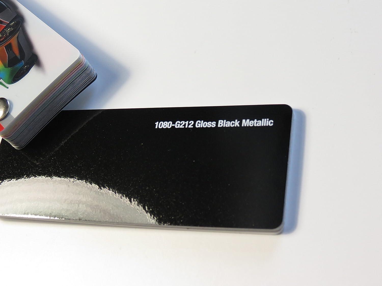 3M Scotchprint Wrap Film Series 1080 Glanz Schwarz gegossene Autofolie 100 x 152 cm Zuschnitt