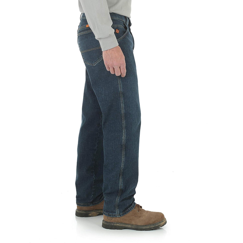 Wrangler Men/'s FR Flame Resistant Advanced Comfort Relaxed Fit Jean