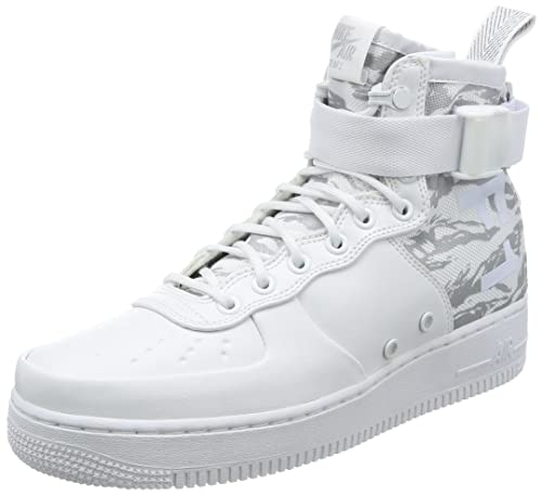 huge discount 102fc 46c02 Nike SF-AF1 MID Winter CAMO Mens Shoes in White Leather and Fabric AA1129-