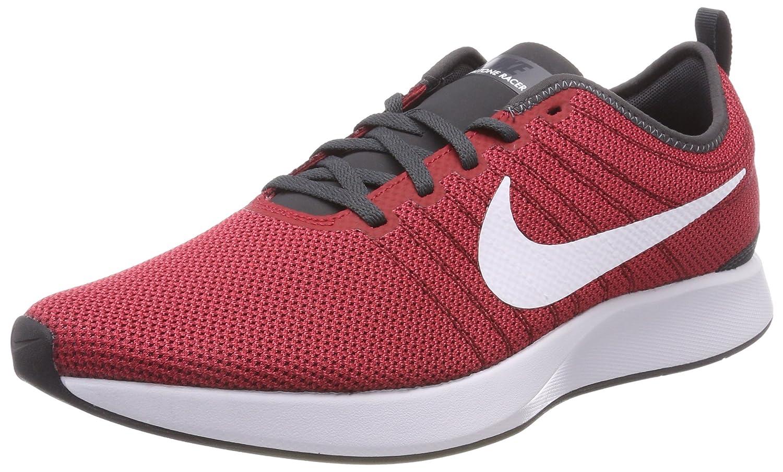 Nike Dualtone Racer, Zapatillas de Gimnasia para Hombre 42.5 EU|Multicolor (Team Red / White / Black 603)